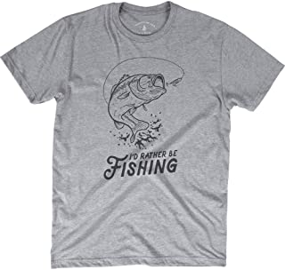 Sponsored Ad - Magic Pine I`d Rather Be Fishing T-Shirt