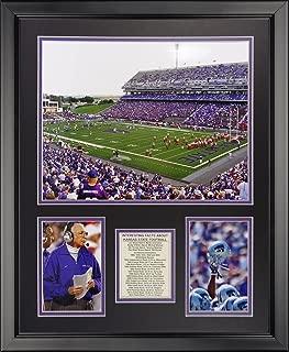 Legends Never Die Kansas State Wildcats - Bill Snyder Family Football Stadium Framed Photo Collage, 16
