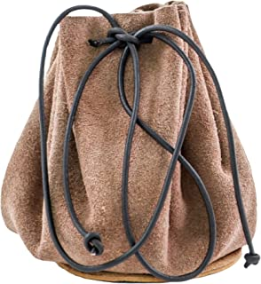Mythrojan Suede Drawstring Leather Pouch Bag Christmas Gift Storage Bag Pouch for Wedding Party Favors