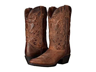Laredo Maddie (Distressed Tan) Cowboy Boots