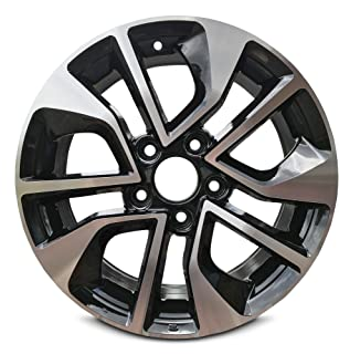 Road Ready Car Wheel For 2013-2015 Honda Civic 16 Inch 5 Lug Gray Aluminum Rim Fits R16 Tire - Exact OEM Replacement - Full-Size Spar