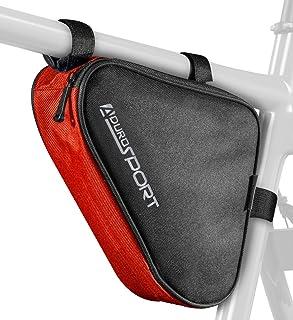 Aduro Sport Bicycle Bike Storage Bag Triangle Saddle...