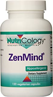 NutriCology ZenMind 120 Vegetarian Capsules