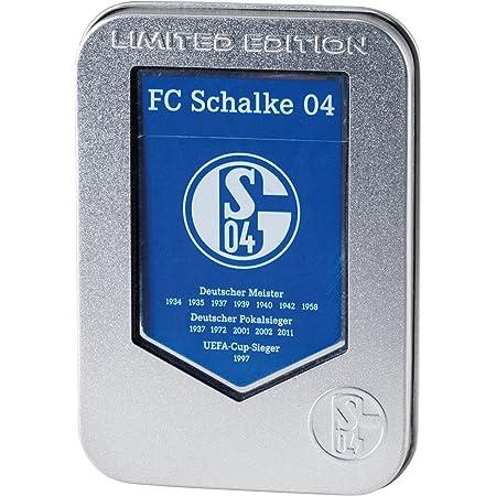 FC Schalke 04  Feuerzeug Piezo Prestige 5er Set Schalke Motive Fußball Fan Artik