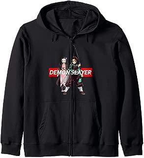 Demon Slayer KNY Tee Zip Hoodie