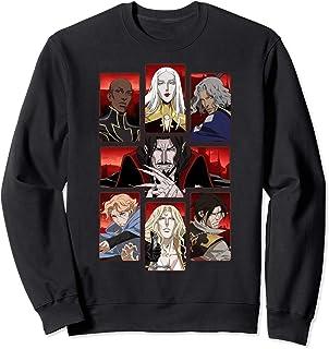 Castlevania Group Shot Panels Sweatshirt