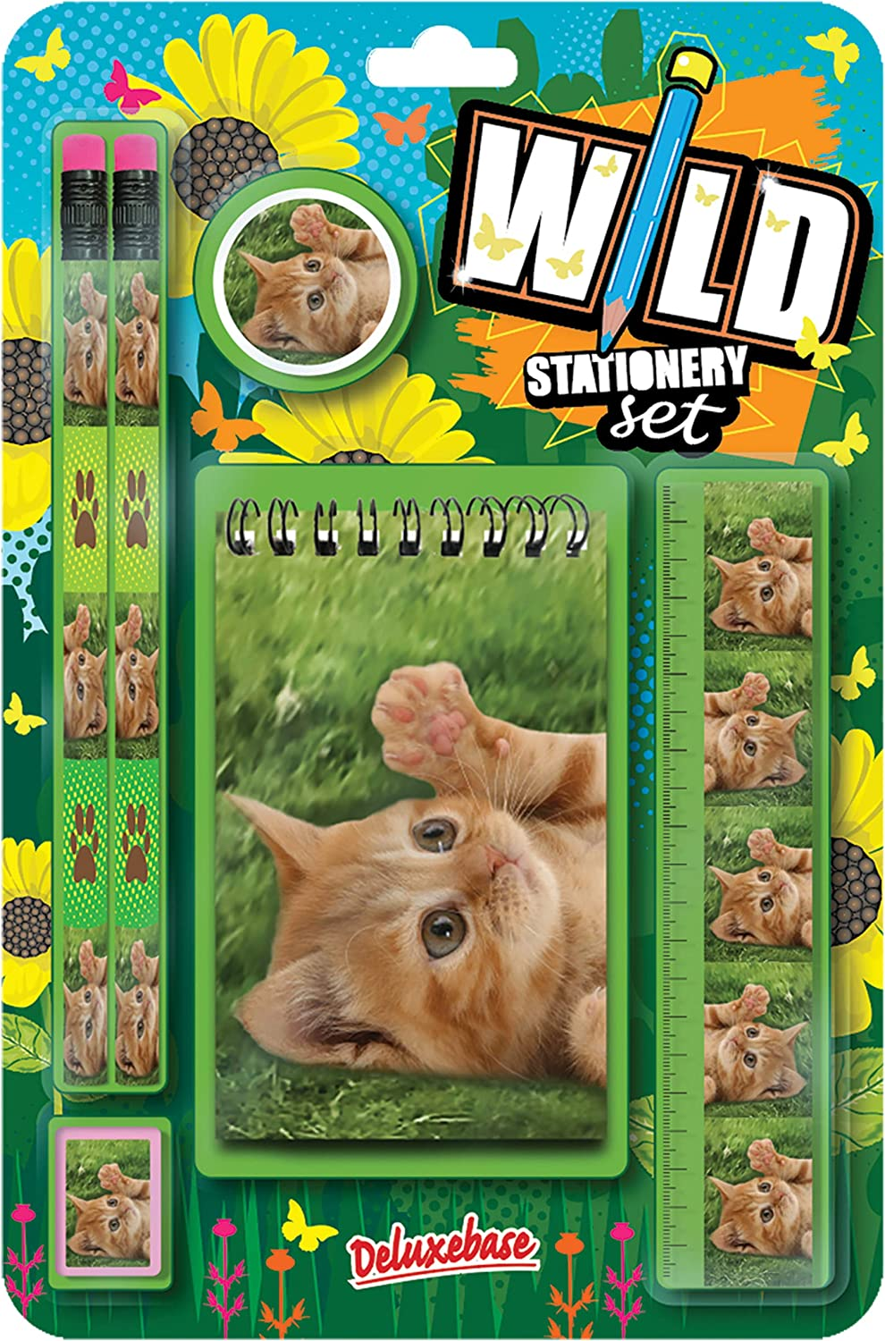 2021 model Wild Stationery Set - Kitten These Deluxebase. Special sale item Cute Station from