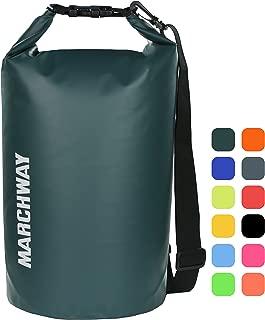 MARCHWAY Floating Waterproof Dry Bag 5L/10L/20L/30L/40L,...