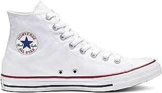 Chuck Taylor All Star Canvas High Top,Optical White, 9...