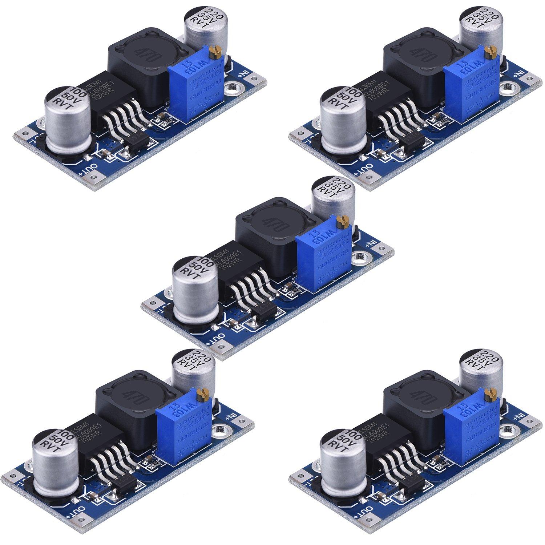 Converter Voltage Adjustable Step up Circuit
