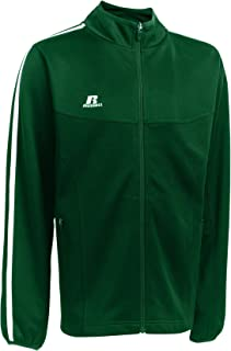 Russell Athletic Youth Team Gameday Warmup Jacket Dark Green/White M