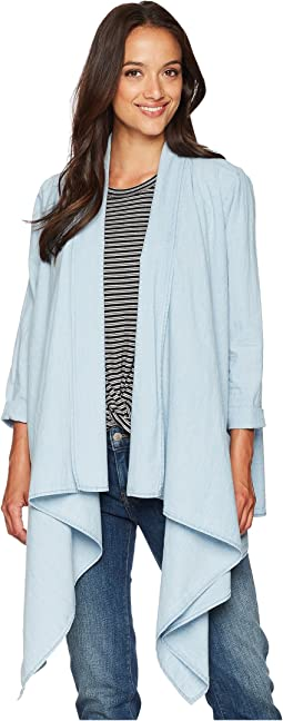 Knotted & Draped Top