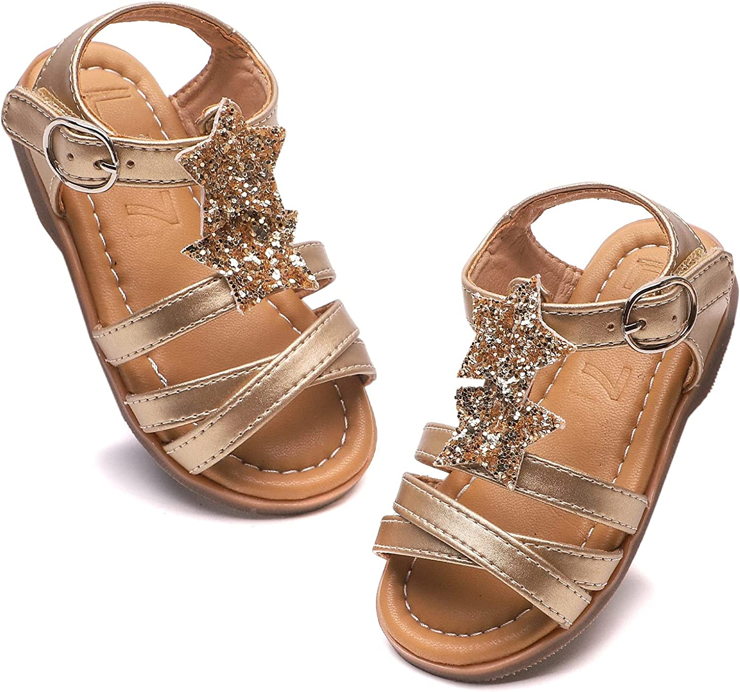 Little Tampa Spring new work Mall Big Girl White Brown Black Sandal To for Dress Flat Shoes