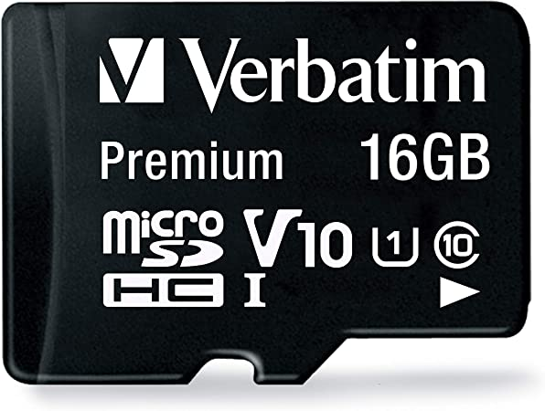 Verbatim 44081 8gb Class 10 Micro Sdhc With Adapter Baumarkt