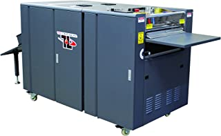 TRUCOAT (TRUVF-16D) Offline UV Flood Coater w/Deep-Pile Vacuum Feeder, Includes UV Coating Tower, 3-lamp IR and UV System, up to 4,000 Sheets/Hour