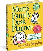 Mom's Family Desk Planner Calendar 2020