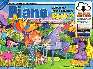 18327 - Progressive Piano Method for Young Beginners Book 2
