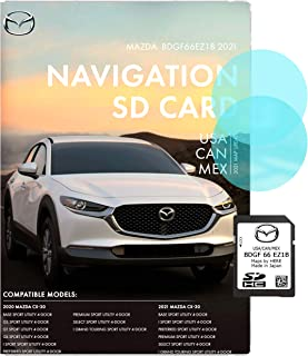OEM GPS 2021 Mazda CX-30 2020 Mazda CX-30 BDGF66EZ1B / USA/CAN/MEX