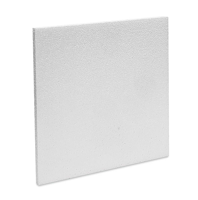 FloraCraft Smoothfoam Block 0.6 Inch x 11.8 Inch x 11.8 Inch White