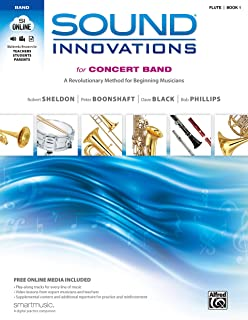 Sound Innovations for Concert Band, Bk 1: A Revolutionary Method for Beginning Musicians (Flute Book & Online Media)