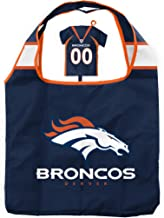 NFL Bag in Pouch   Reusable Polyester Shopping Grocery Bags   Heavy Duty   Foldable   Lightweight