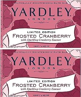 Limited Edition Yardley London Frosted Cranberry Bath Bar