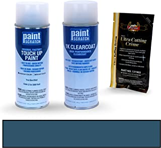 PAINTSCRATCH Touch Up Paint Spray Can Car Scratch Repair Kit - Compatible with 2008 Ford F-Series True Blue Effect (Color Code: L2)