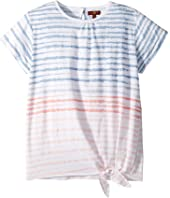 7 For All Mankind Kids Tie Front Top (Big Kids)
