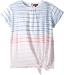 7 For All Mankind Kids - Tie Front Top (Big Kids)