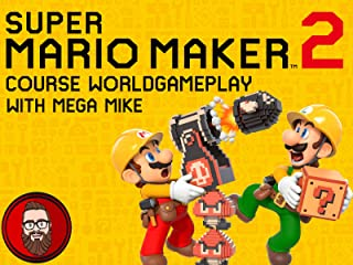 Super Mario Maker 2 Course World Gameplay with Mega Mike