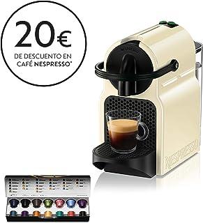 Nespresso De'Longhi Inissia EN80.CW - Cafetera monodosis de cápsulas Nespresso, 19 bares, apagado automático, color crema