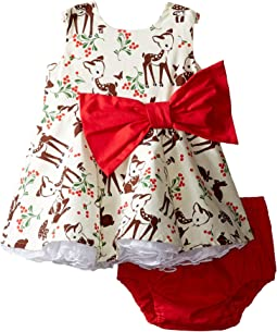 Little Party Little Deer Dress (Infant)