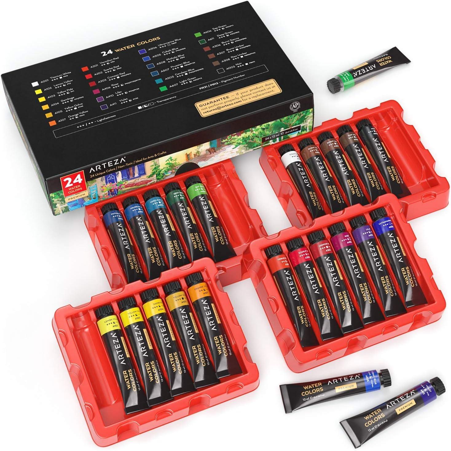 DIY Watercolor Painting Set 4 Colors Children Drawing  Kids Educational T;UK