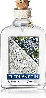 Elephant Gin Strength, elefantenstarker Dry Gin 57% Vol mit intensivem Aroma und weichem Charakter 1x 0,5 L