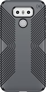Speck Products Presidio Grip Cell Phone Case for LG G6 - Graphite Grey/Charcoal Grey