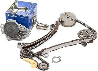 Evergreen TK2040GWPA Fits Toyota Scion 1AZFE 2AZFE Timing Chain Kit w/Water Pump (with VVTi Gear)