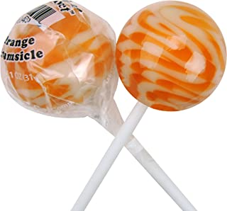 Original Gourmet Lollipops, Orange Creamsicle, 30 Count (Pack of 30)