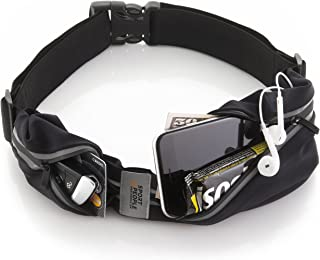 sport2people Running Pouch Belt, USA Patented, Runner Waist Pack iPhone X 6 7 8 for Men and Women
