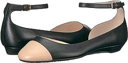 Black/Nude Leather