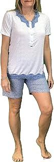 Pigiama Manica Corto Pantalone Corto in Viscosa Art MAT0150