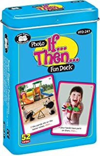Super Duper Publications | If. Then. Photo Fun Deck Flash Cards | Educational Learning Material for Children