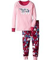 Hatley Kids - Bearly Asleep Pajama Set (Toddler/Little Kids/Big Kids)
