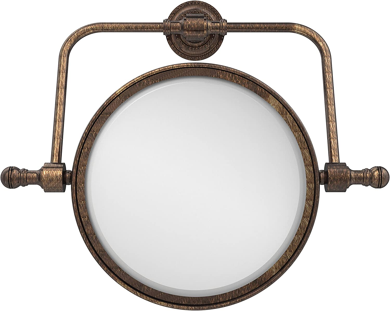 Allied Brass 8-Inch Swivel Mirror 3x Mag Venetian Bronze