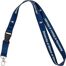 University of Illinois at Chicago UIC Flames NCAA Car Keys ID Badge Holder Lanyard Keychain Detachable Breakaway Snap Buckle