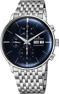 Watch Meister Chronoscope Sunray Blue Dial Day Date Steel Bracelet 027/4528.45