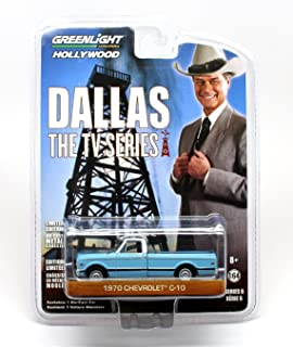 1970 Chevrolet C-10 Pickup Truck Dallas 1978-91 TV Series 1/64 by Greenlight 44691