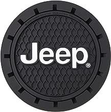 Plasticolor 000652R01 posavasos con logotipo de Jeep