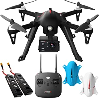 Force1 F100GP Drones with Camera for Adults - 1080p HD Camera Compatible GoPro Drone Long Range Brushless Quadcopter Flyin...