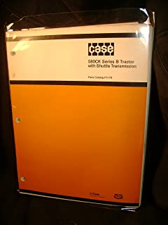 Case 580CK Series B Tractor with Shuttle Transmission Parts Catalog Manual