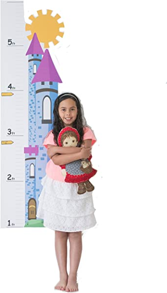 Growth Chart For Kids Castle Growth Chart Decal Height Chart For Kids Vinyl Decal Castle Nursery Wall Decor Height Measurement For Kids Kids Height Wall Chart